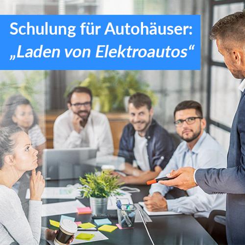 """The Mobility House Schulung für Autohäuser """"Laden von Elektroautos"""""""
