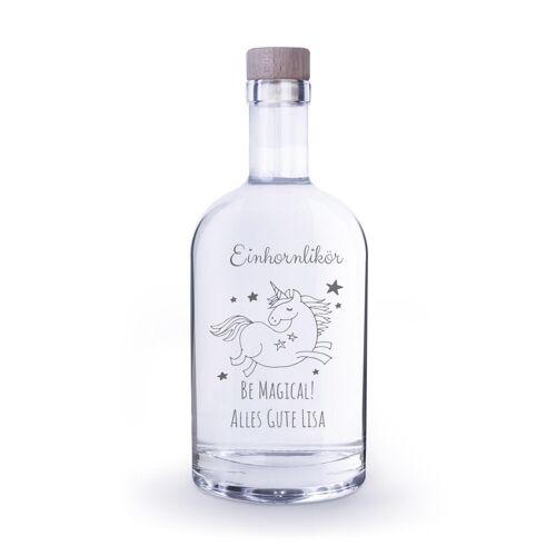 Personello Flasche mit Gravur als Likörflasche