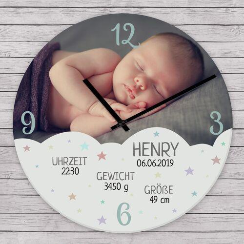 Personello Personalisierte Uhr Baby