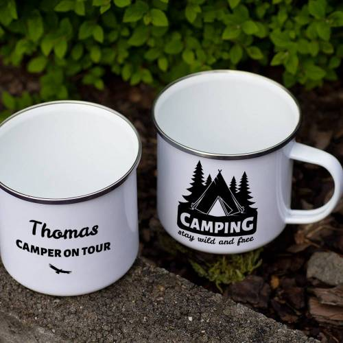 Personello Emaille-Tasse Camping