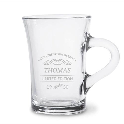 Personello Personalisiertes Teeglas