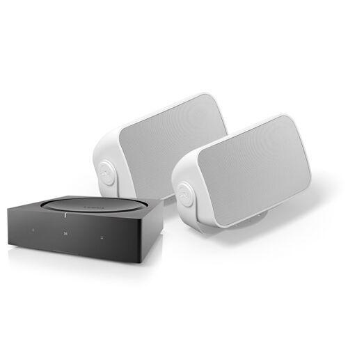 HiFi Klubben AMP + Outdoor Kompakter Verstärker mit Streaming
