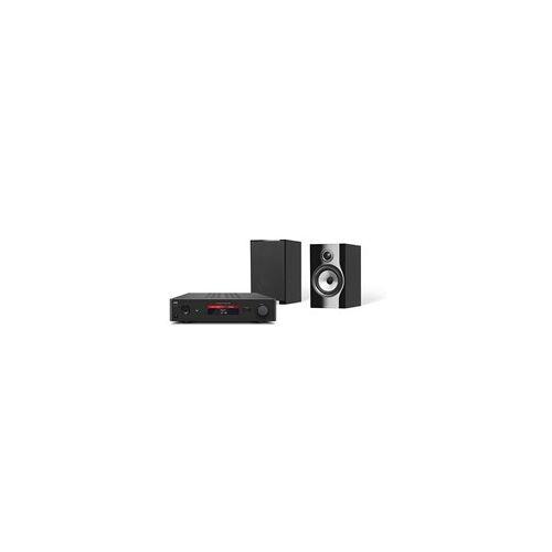 NAD C368 + B&W 706 S2 Kompakter Verstärker mit Bluetooth