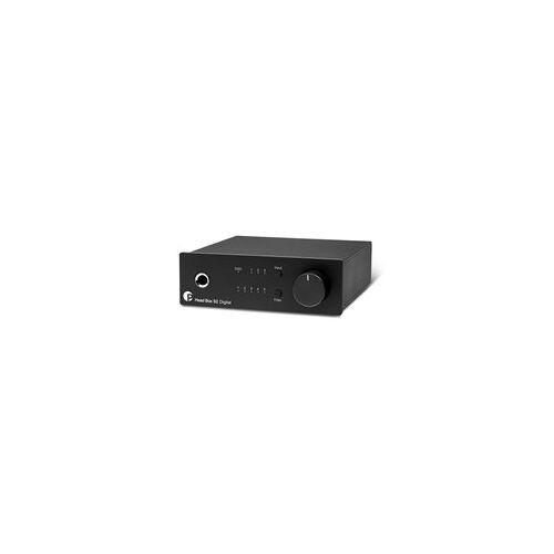Pro-Ject Head Box S2 Digital Kopfhörerverstärker Schwarz