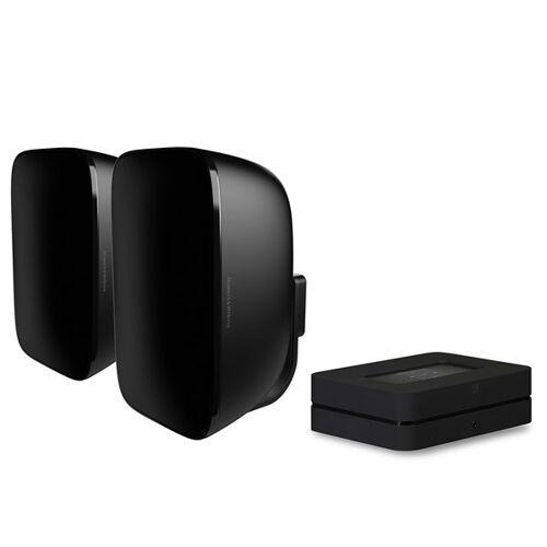 Bluesound Powernode 2i (HDMI) + B&W AM1 Digitalverstärker mit Streaming