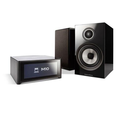 NAD M10 + B&W 707 S2 Digitalverstärker mit Streaming