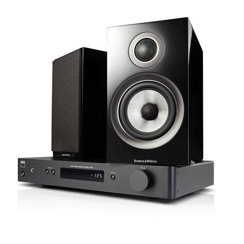 NAD C338 + B&W 707 S2 Digitalverstärker mit Streaming
