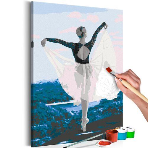 Artgeist Malen nach Zahlen - Ballerina Outdoor