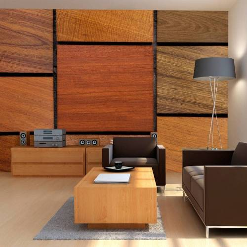 Artgeist Fototapete - Holzwürfel