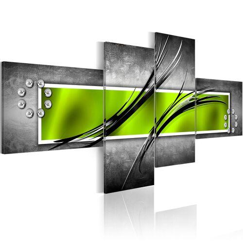 Artgeist Wandbild - Das grüne Fenster