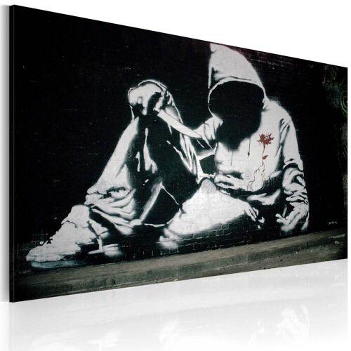 Artgeist Wandbild - Inkognito Killer (Banksy)