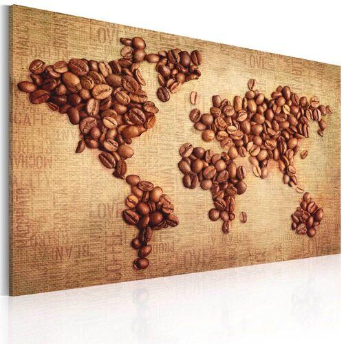 Artgeist Wandbild - Kaffee aus der ganzen Welt