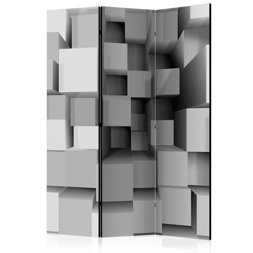 Artgeist 3-teiliges Paravent - Geometric Puzzle [Room Dividers]