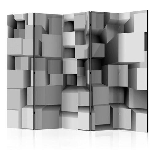 Artgeist 5-teiliges Paravent - Geometric Puzzle II [Room Dividers]