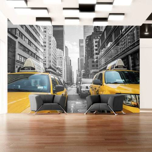 Artgeist Fototapete - New York taxi