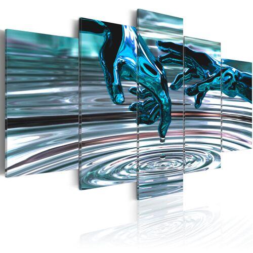 Artgeist Wandbild - Wasserkreise