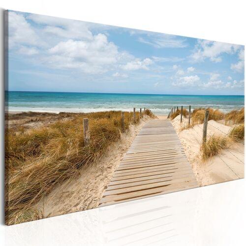 Artgeist Wandbild - Windiger Strand