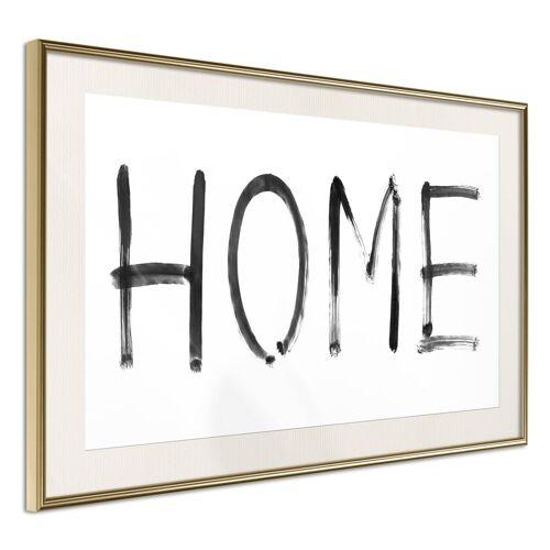 Artgeist Poster - Simply Home (Horizontal)