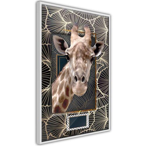 Artgeist Poster - Giraffe in the Frame