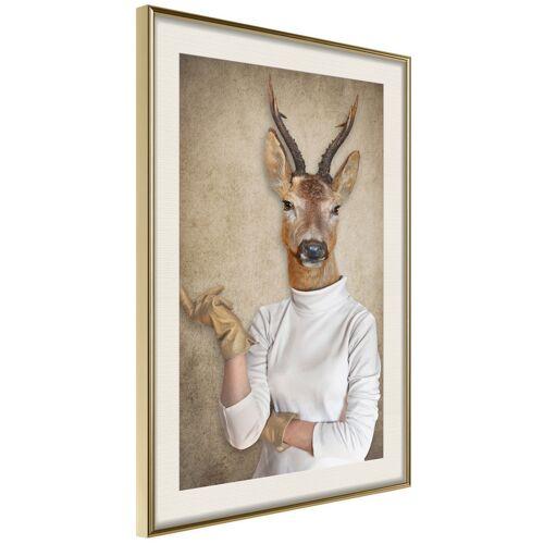 Artgeist Poster - Animal Alter Ego: Capreolus