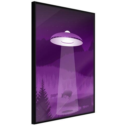 Artgeist Poster - Flying Saucer