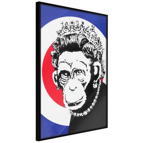 Artgeist Poster - Banksy: Monkey Queen