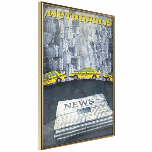 Artgeist Poster - Metropolis News