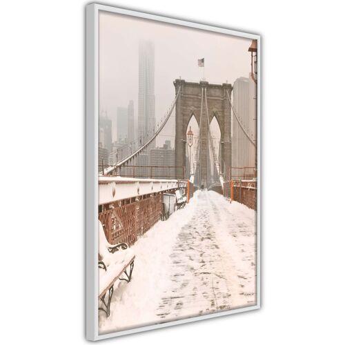 Artgeist Poster - Winter in New York