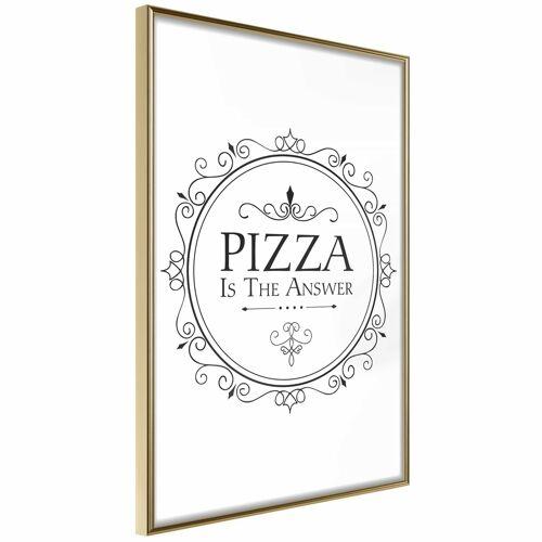 Artgeist Poster - Pizza