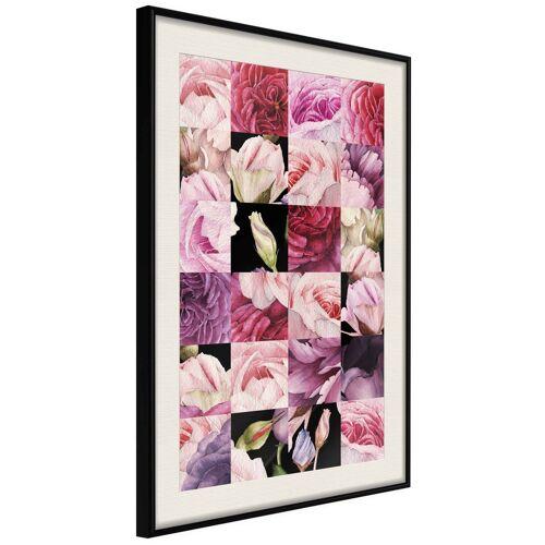 Artgeist Poster - Floral Jigsaw