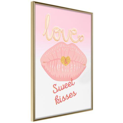 Artgeist Poster - Pink Kisses