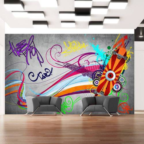 Artgeist Fototapete - Skateboard