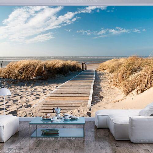 Artgeist Fototapete - Langeoog - Strand an der Nordsee