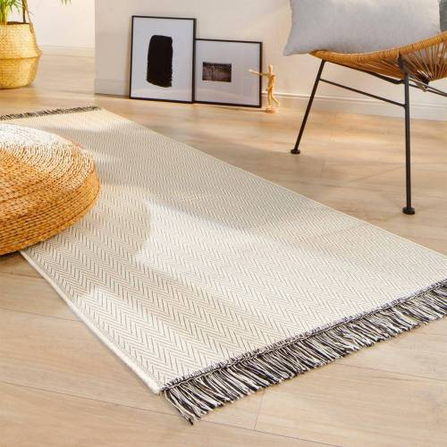 Biederlack Teppichläufer Zigzag