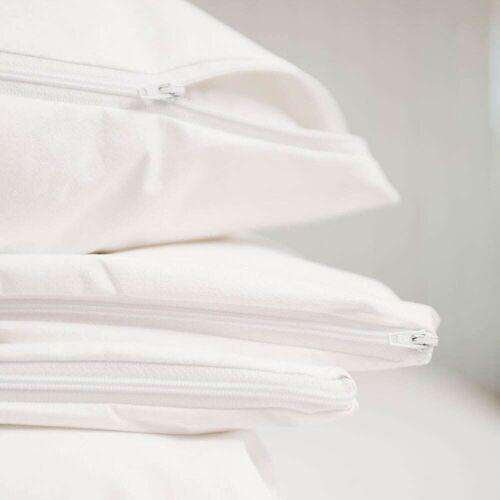 Allergovita Evolon Encasing Bettwäsche für Hausstauballergiker Basic weiß