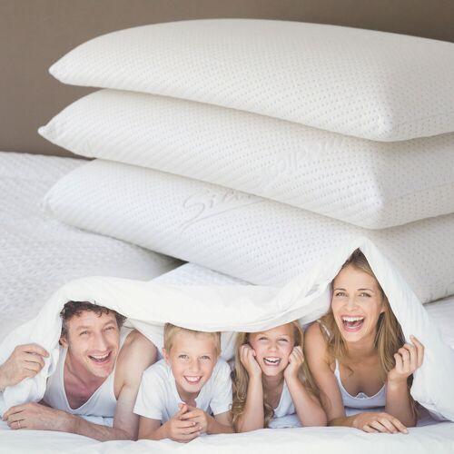 Traumschlaf Familien Nackenstützkissen weiss