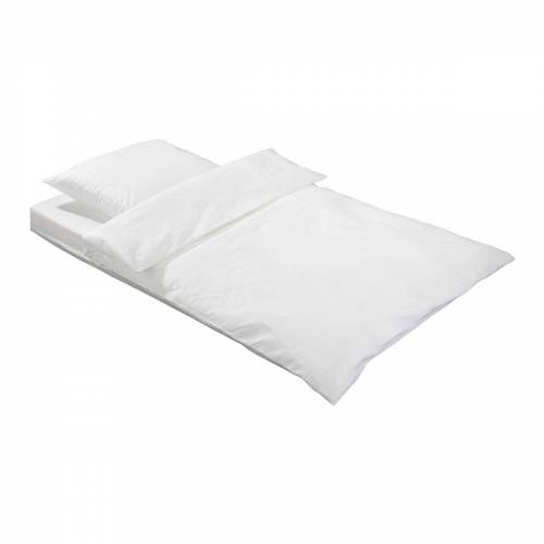 Pulmanova ® basic allergendichte Encasing Set Kissen- und Bettbezüge weiss