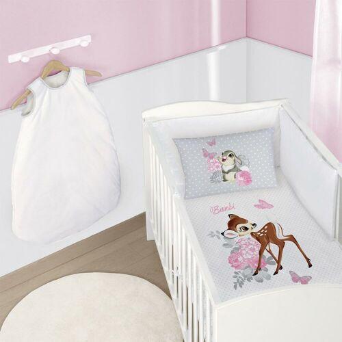 CTI Disney Bambi Bettwäsche Retro weiß