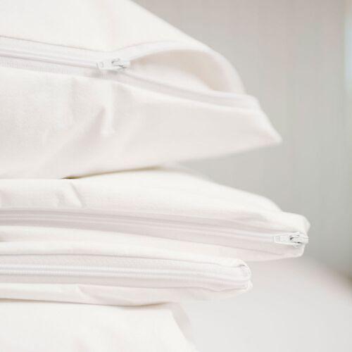Allergovita Evolon Encasing Kissen und Deckenbezüge für Hausstauballergiker Basic weiß