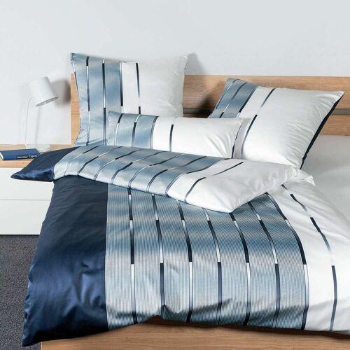 Janine Interlock Feinjersey Bettwäsche Carmen S 55026-02 nachtschattenblau nachtschattenblau