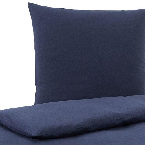 Traumschlaf Uni Jersey Melange Bettwäsche