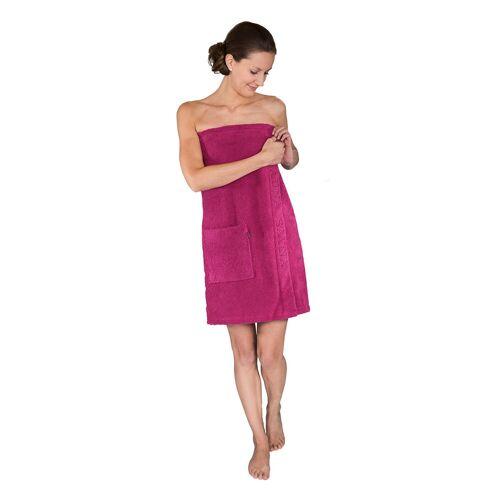 wewo fashion Damen Saunakilt mit Tasche