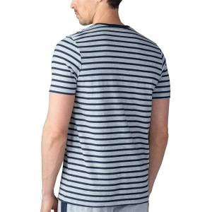 mey Herren Shirt Mix&Match kurzarm light grey melange