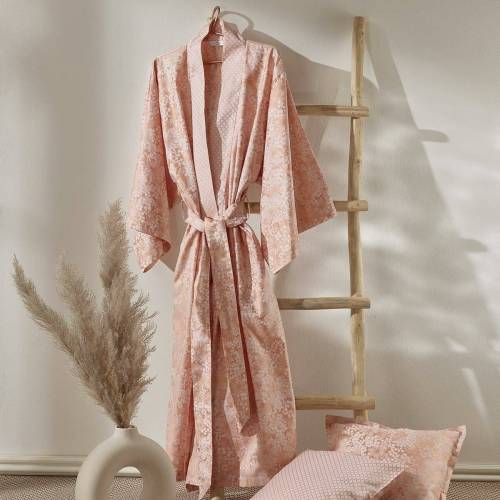Curt Bauer Damen Kimono Cosy rosewood rosewood