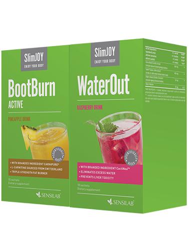 SlimJOY WaterOut + BootBurn Acti...