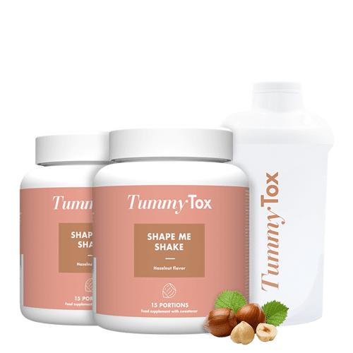 TummyTox Shape Me Shake [1+1 GRATIS] + Geschenk: Shaker