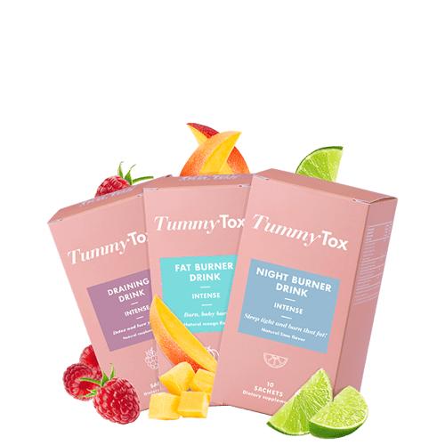 TummyTox Burn it Out Paket   Weniger Fett, weniger Wassereinlagerungen und eine beneidenswerte Figur!   TummyTox