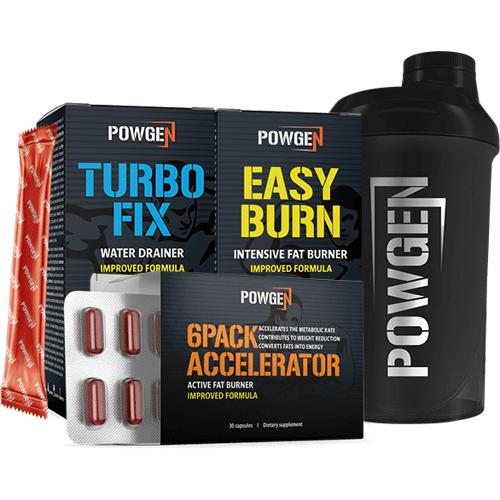 PowGen Sixpack Paket + SHAKER
