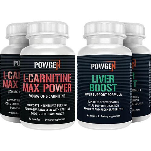 PowGen Power Pack - Fettverbrennung und Körperentgiftung