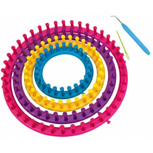 Playbox Strickringe, 4er-Set